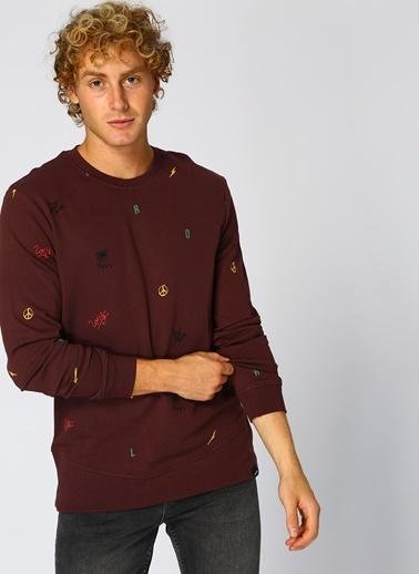 Only & Sons Sweatshirt Bordo